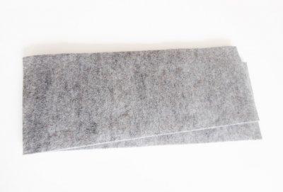 Zum Zuschneiden 1 oder 2 cm Dick - 1 Paar Wollfilz - Universal Einlagen für Sattelunterlagen oder Pads
