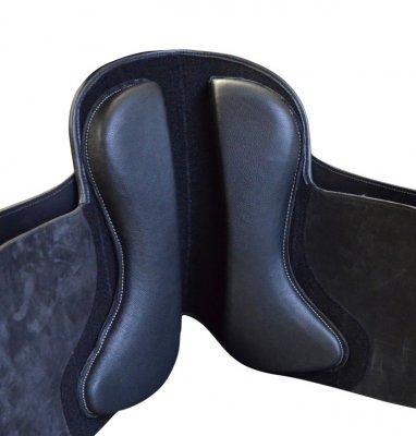 Klettkissen , Sattelkissen Klett Panels mit Latex Dressurform