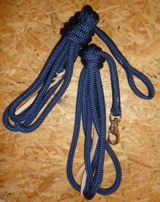 Arbeitsseil / Bodenarbeitsseil / Ring Rope, Navy