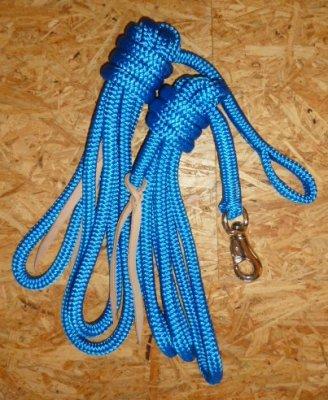 Arbeitsseil / Bodenarbeitsseil / Ring Rope, Blau