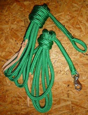 Arbeitsseil / Bodenarbeitsseil / Ring Rope, Grün