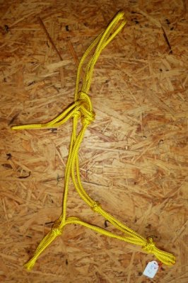 Knotenhalfter Profi - Gelb