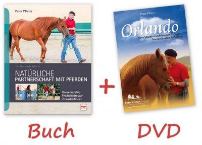 SETANGEBOT - Natürliche Partnerschaft mit Pferden PLUS Orlando DVD