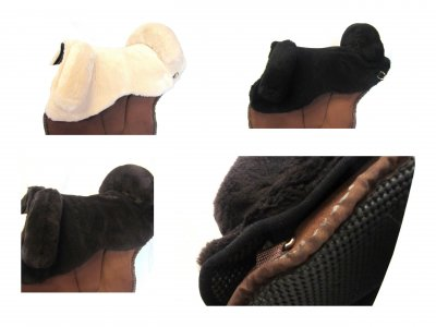 Universal Schafwoll Sitz für Reit Pads
