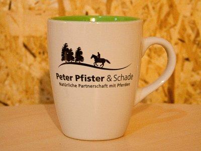 Peter Pfister & Schade Tasse - grün
