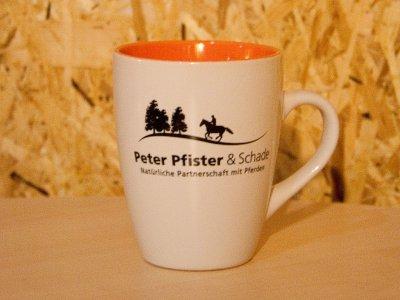 Peter Pfister & Schade Tasse - orange