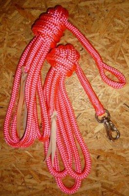 Arbeitsseil / Bodenarbeitsseil / Ring Rope, Pink