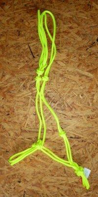 Knotenhalfter Profi - Neongelb