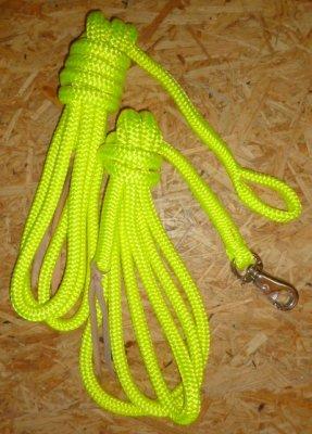 Arbeitsseil / Bodenarbeitsseil / Ring Rope, Neongelb