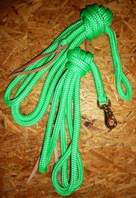 Arbeitsseil / Bodenarbeitsseil / Ring Rope, Neongrün