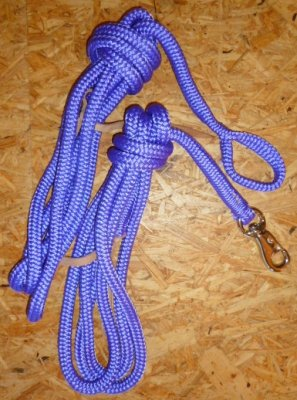Arbeitsseil / Bodenarbeitsseil / Ring Rope, Lila