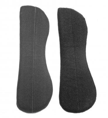 Solidplate - Verstärkungspanel für flexible Sättel mit Klett