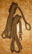 Arbeitsseil / Bodenarbeitsseil / Ring Rope, Braun
