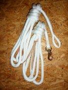Arbeitsseil / Bodenarbeitsseil / Ring Rope, Weiß
