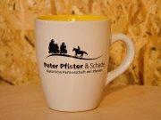 Peter Pfister & Schade Tasse - gelb