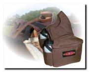 Isolierte Horn-Satteltasche  mit 2 Wasserflaschen