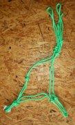 Knotenhalfter Profi - Neongrün