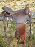 FREEMAX Short Cow Baumloser Westernsattel, flexibel