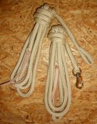 Arbeitsseil / Bodenarbeitsseil / Ring Rope, Beige